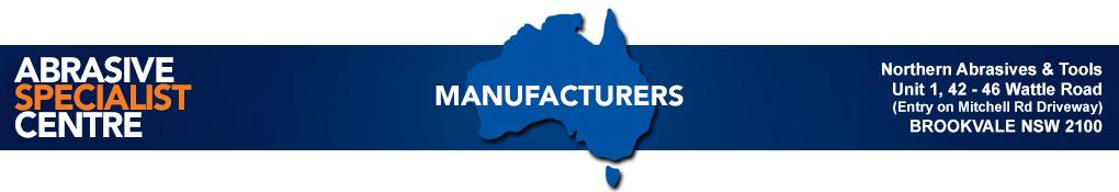Sydney Abrasives and Tools Manufacturer List