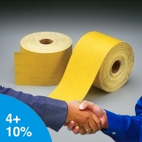 NORTON No-Fil Adalox Rolls 100mm x 10m