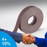 NORTON Metalite Cloth Handy Rolls 50mm x 50m
