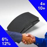 REVCUT Blue Velstick Sanding Sheet 81x153 8H (Pack 50)