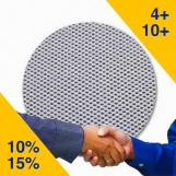 HG Abrasive Mesh Velcro Sanding Disc 150mm - DUSTLESS. (50 Pack)
