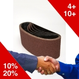 DEERFOS PORTABLE SANDING BELTS 75 x 457mm (Pkt 10)