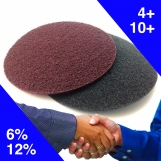 NORTON Surface Conditioning Discs (pkt 10) - Maroon Medium