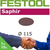 FESTOOL Saphir 115mm StickFix Discs (box 25)