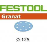 FESTOOL Granat 125mm StickFix Discs 9H (10pkt)