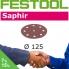 FESTOOL Saphir 125mm StickFix Discs 9H (box 25)