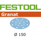 FESTOOL Granat 150mm StickFix Discs 17H (10pkt)