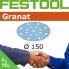 FESTOOL Granat 150mm StickFix Discs 17H (box)