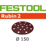 FESTOOL Rubin 2 150mm StickFix Discs 17H (10pkt)