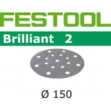 FESTOOL Brilliant 2 150mm StickFix Discs 17H (10pkt)