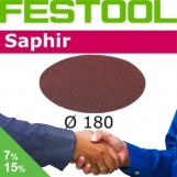 FESTOOL Saphir 180mm StickFix Discs for Heavy Duty (box 25)