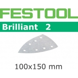 FESTOOL Brilliant 2 100x150mm Delta Stickfix Detail Strips 7H (pkt 10)