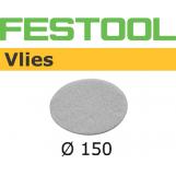 FESTOOL Polishing Vlies STF 150mm White for Oil system (pkt 10)