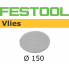 FESTOOL Polishing Vlies STF 150mm White for Oil system (pkt 10)