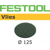 Festool Sanding Vlies STF 125mm Green for Oil system (pkt 10)