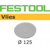 FESTOOL Polishing Vlies STF 125mm White for Oil system (pkt 10)