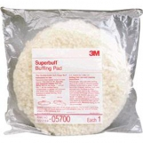 3M 05700 Superbuff Pad - WHITE