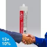 BOSTIK / AVS Construction Adhesive AV515 300g CARTRIDGE TRANSPARENT