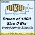 BIX Size 0 Bix Wood Joiner Biscuits Box of 1000