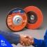 NORTON Flap Discs - R980 Blaze 180 x 22MM (pkt10)