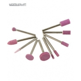 WORKQUIP 10 PC STONE SET 1/8 SHANK