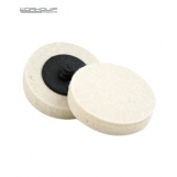 WORKQUIP 50MM TWIST LOCK WOOL WHEEL - Pack of 2