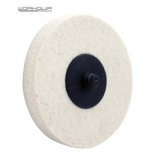 WORKQUIP 75MM TWIST LOCK WOOL WHEEL