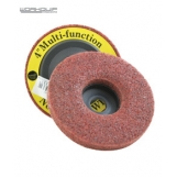 WORKQUIP 100MM NON WOVEN WHEEL 180 GRIT