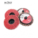 MAKO 75MM TWISTLOCK FLAP DISC CERAMIC ABRASIVES- pkt 10