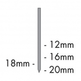 Airco 0.8 Headless Pins (box 20000)