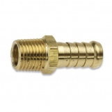 JAMEC PEM Barb Hose Tailpiece Brass Male 6TM4 10mm (3/8
