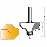 CARBITOOL Edge Forming Bits - OGEE BITS