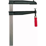 BESSEY Deep throat clamp TGNT with tried‐and‐true wooden handle