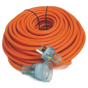 Premium EXTENSION LEAD -20m Heavy Duty 15amp lead with 10amp Moulded plug