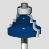 """FLAI Router Bit 1/2"""" -Cove and Bead"""
