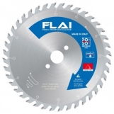 FLAI U TYPE SAW BLADE ULTRA FINE FINISH & RIP Z40T-250MM