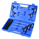 KINCROME Pro T-handle Hex Key Wrench Set 7 Piece AF