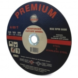 Premium Abrasives THIN 75mm x 1.2mm x 9.35 METAL CUTTING WHEELS For Air Cut Off Tools (Single)