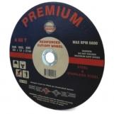 Premium Abrasives THIN 75mm x 1.2mm x 9.35 METAL CUTTING WHEELS For Air Cut Off Tools (Single)