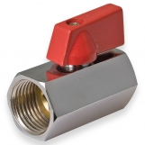 "JAMEC PEM Mini Ball Valves- Female 1/4"" BSP"