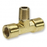 "JAMEC PEM Tee Piece Threaded ¼' Male To 2x ¼'Female MFT4X4 1/4"" x 1/4"" x 1/4"" BSP"