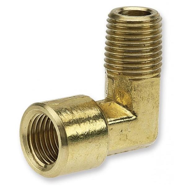 Turned brass fittings jamec pem threaded elbow ¼ male