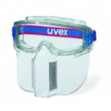 Uvex Ultrashield - w/ lower face guard (anti-fog both sides)