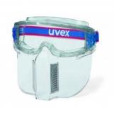 Uvex Ultrashield - w/ lower face guard (anti-fog both sides)
