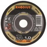 Rhodius 105mm Thin Cut Off Wheel Flat Inox Metal 80m/s