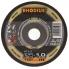 Rhodius 115mm Thin Cut Off Wheel Flat Inox Metal 80m/s