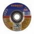 Rhodius 125mm Thin Cut Off Wheel Depressed Centre Inox Metal 80m/s