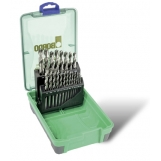 Bordo 2006-F2 HSS Bright 21 Piece Drill Set 1/16-3/8