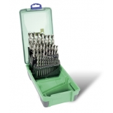 Bordo 2006-F2 HSS Bright 29 Piece Drill Set 1/16-1/2