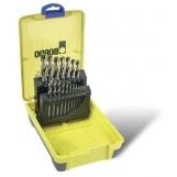 Bordo 2007-M2 HSS Bright 19 Piece Drill Set 1-10mm